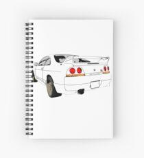 Nissan Skyline R33 GT-R (semi back) Spiralblock