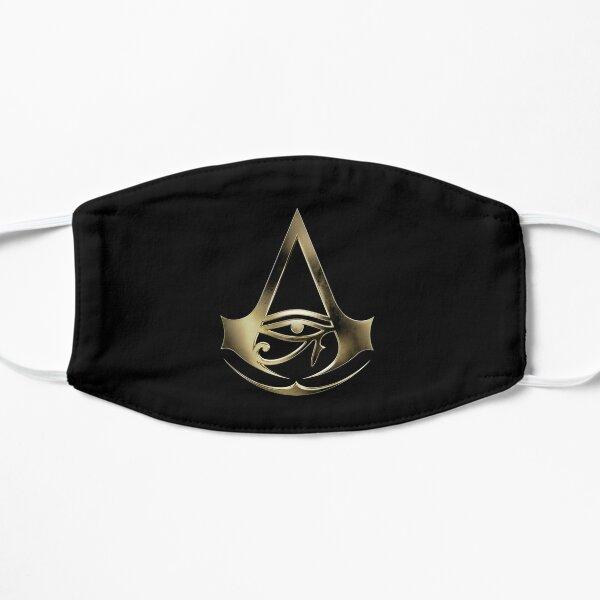 Assassins Creed logo art minimaliste symbole mort par dessus Eagle Masque sans plis