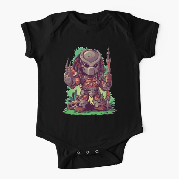 The Little Predator Short Sleeve Baby One-Piece