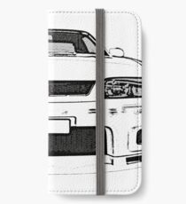 Nissan Skyline R33 GT-R (front) iPhone Wallet/Case/Skin