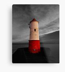 Berwick Upon Tweed Lighthouse Metal Print