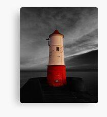 Berwick Upon Tweed Lighthouse Canvas Print