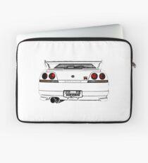 Nissan Skyline R33 GT-R (back) Laptop Sleeve