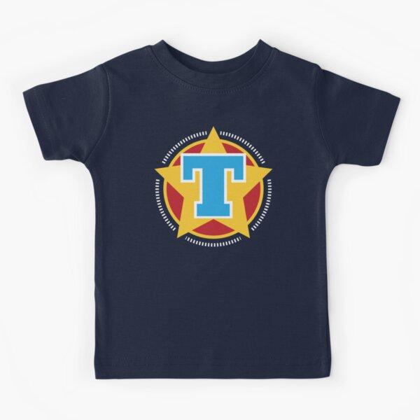 Superhero Letter T. Star and stripes Kids T-Shirt