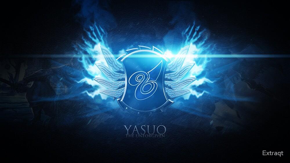Yasuo the Unforgiven emblem design by Extraqt