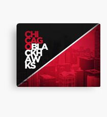 BLACKHAWKS Canvas Print
