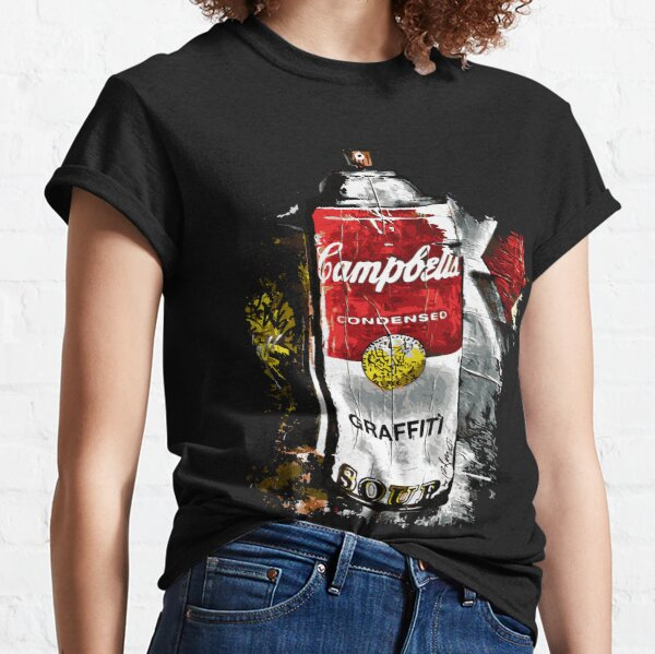 Campbells Parody Graffiti Soup Street Art Classic T-Shirt