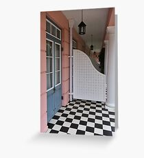 Cape Town Checkers Greeting Card