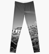 Hollywood Sign Leggings