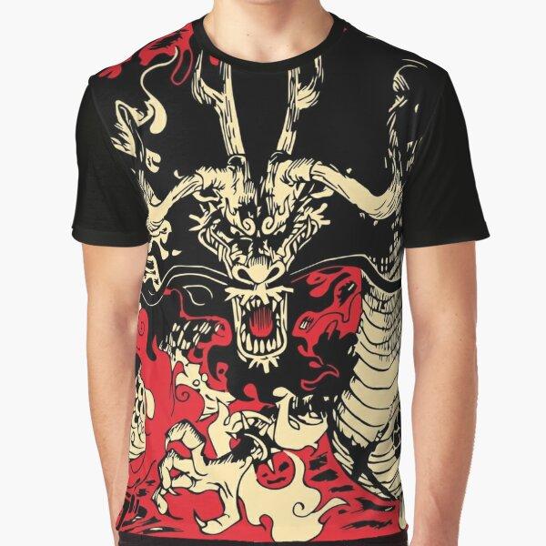 Kaido The Dragon Graphic T-Shirt
