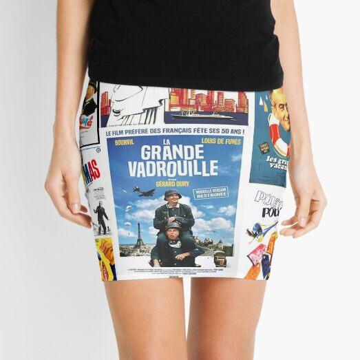 Louis de Funes movie poster compilation Mini Skirt