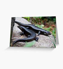 the reptile - kp Greeting Card