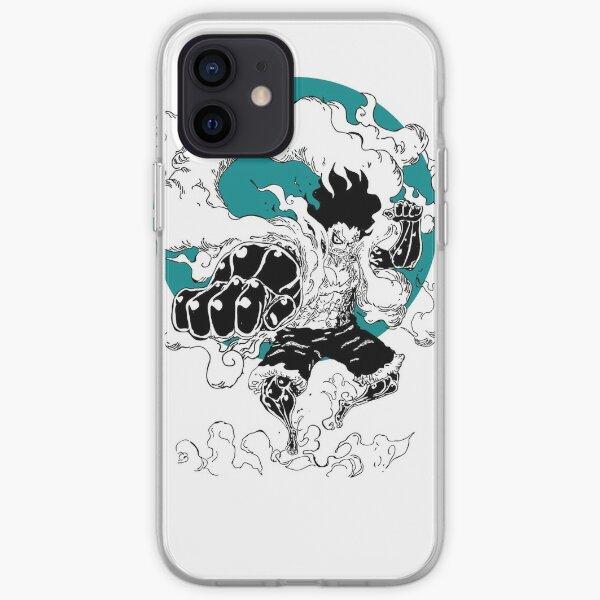 Monkey D Luffy Gear 4e Coque souple iPhone