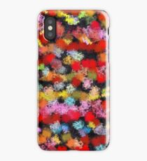 Colorful brush strokes iPhone Case