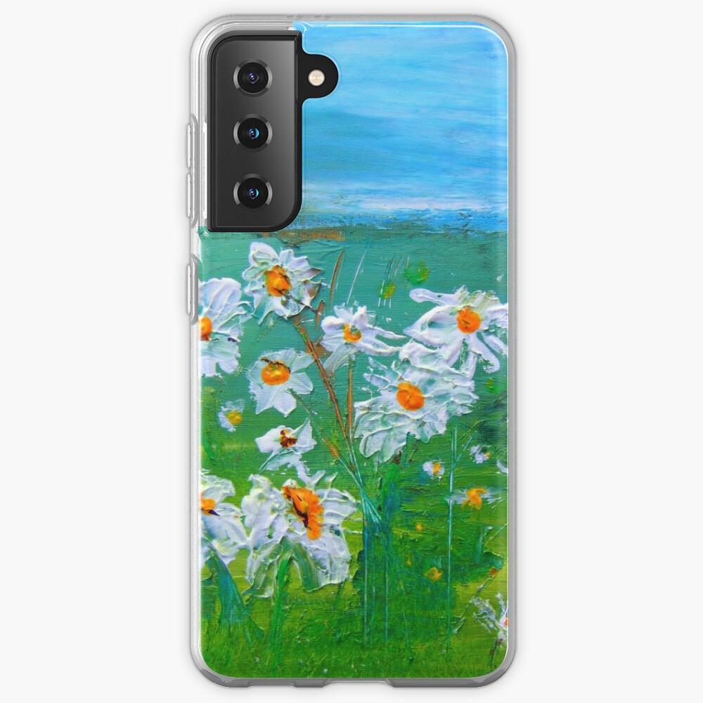 Meadow Daisies Case & Skin for Samsung Galaxy