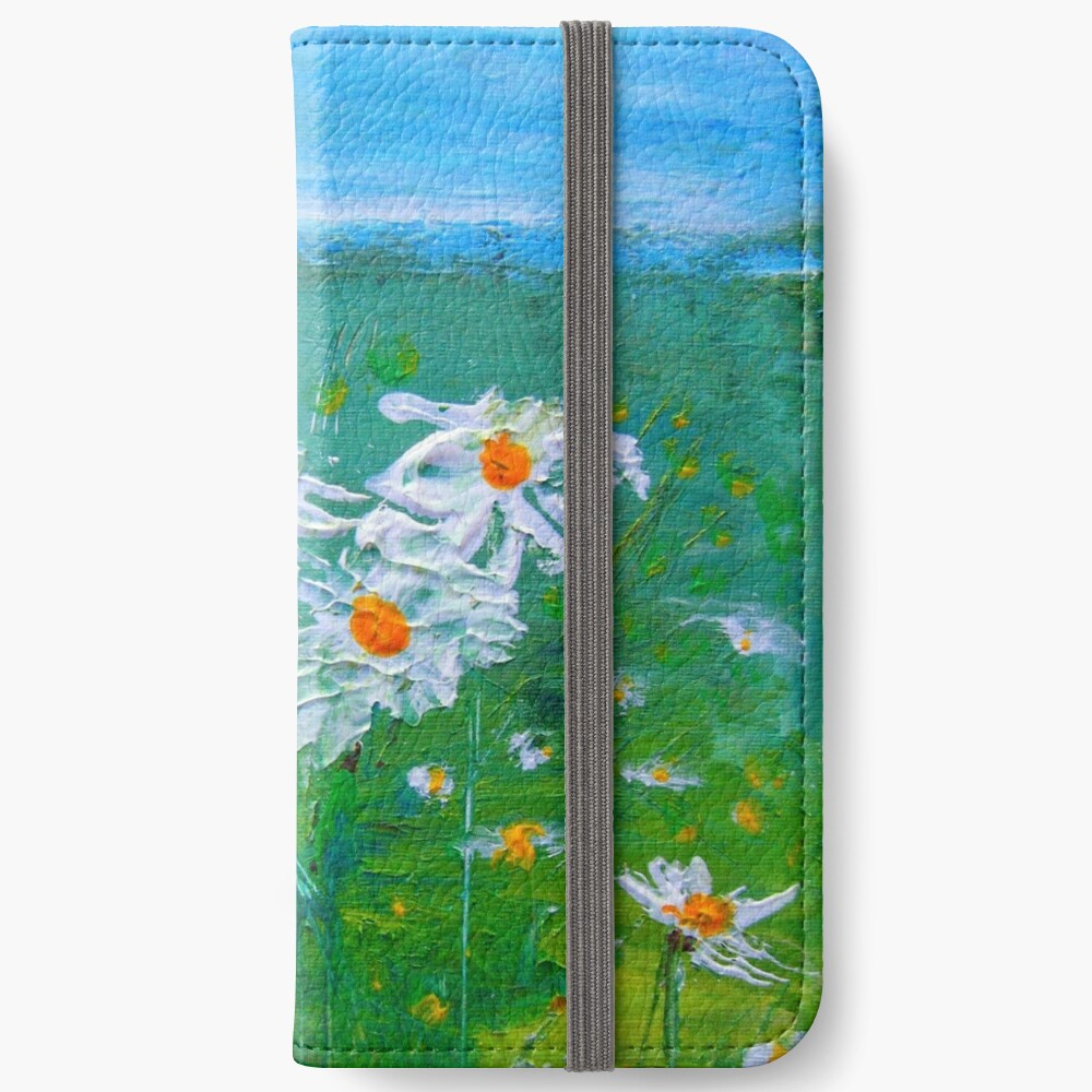 Meadow Daisies iPhone Wallet