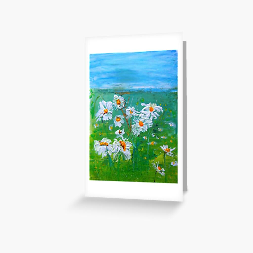 Meadow Daisies Greeting Card