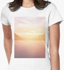 landscape 01 Women's Fitted T-Shirt