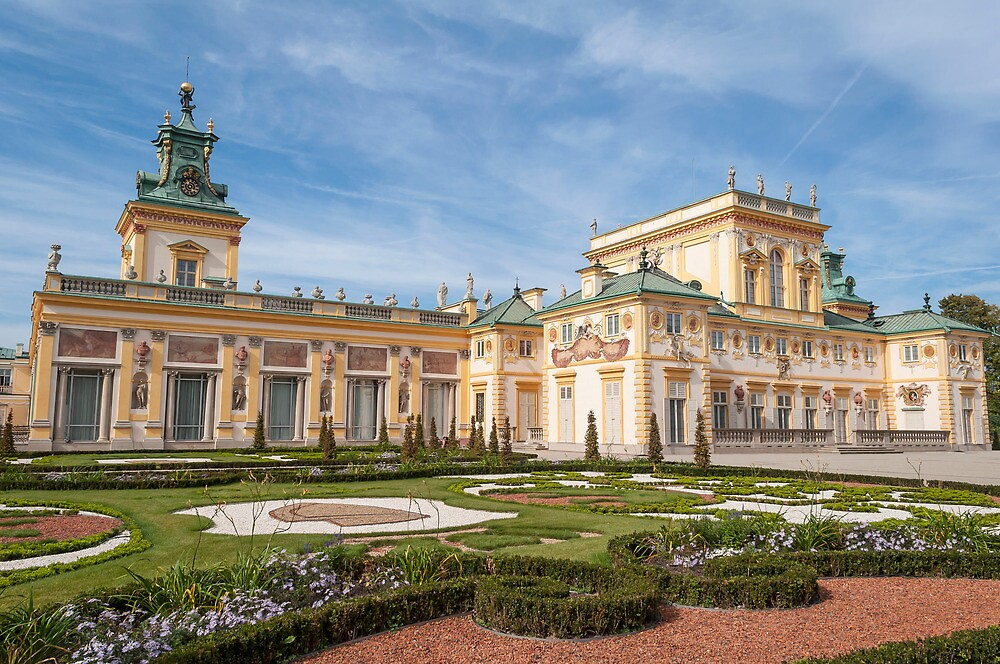 Wilanow Palace, Warsaw, Poland. by FER737NG