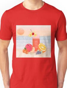 cocktail at sunset Unisex T-Shirt