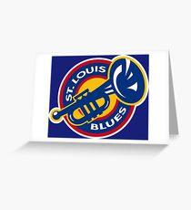 ST. LOUIS BLUES HOCKEY Greeting Card