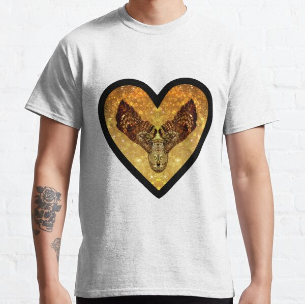Golden Great Grey Owl Classic T-Shirt