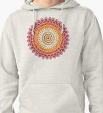 Orange Spice Mandala Pullover Hoodie
