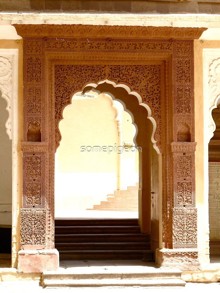 India Photograph; Archway  by somepigeon