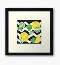 Simply the Zest! Framed Print