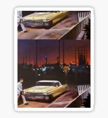 Yellow Cadillac Sticker