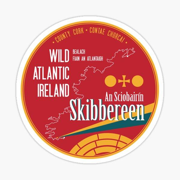 Wild Atlantic Way Skibbereen Cork Ireland T-Shirt Sticker Magnet Sticker