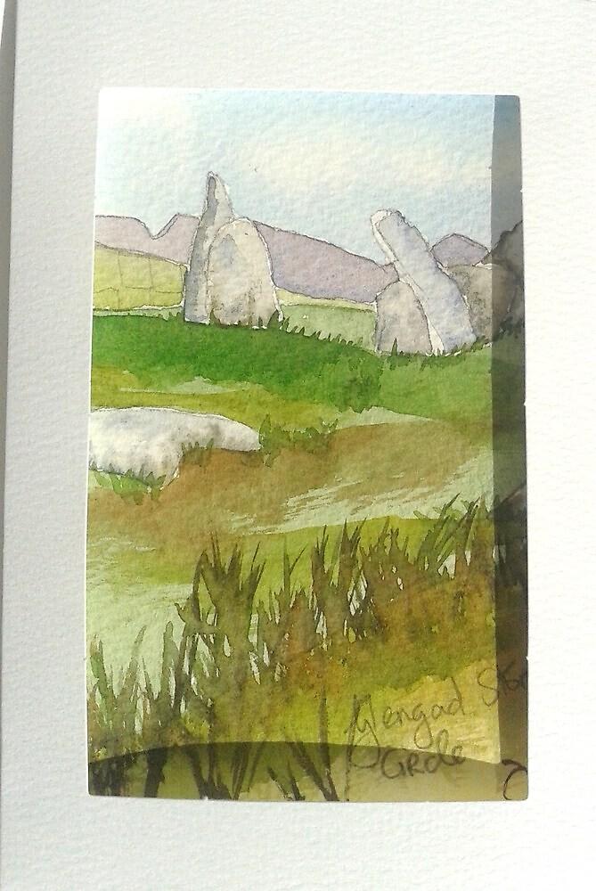 Glengad Stone Circle, Co. Mayo by DeeIorrais