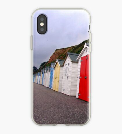 Beach Huts - Seaton iPhone Case
