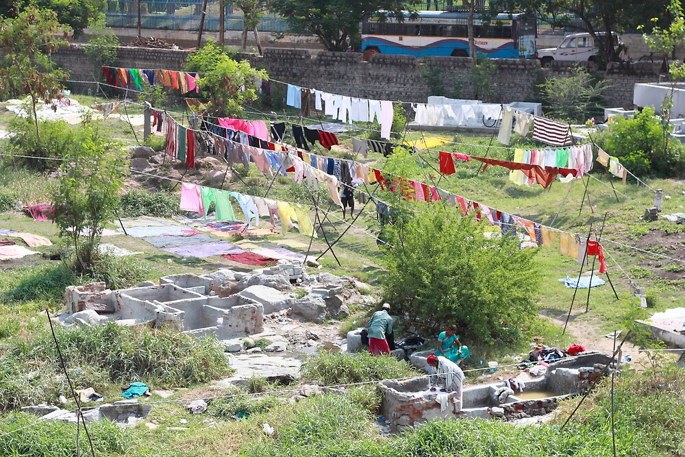 Laundry Hyderabad India  by Andrew  Makowiecki