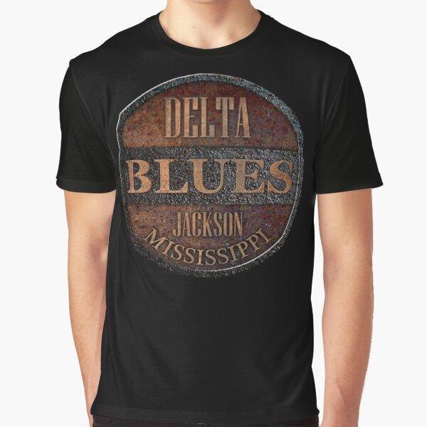 Rusty delta blues Graphic T-Shirt