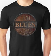 Camiseta unisex Rusty delta blues