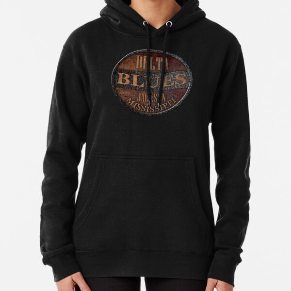 Rusty delta blues Pullover Hoodie