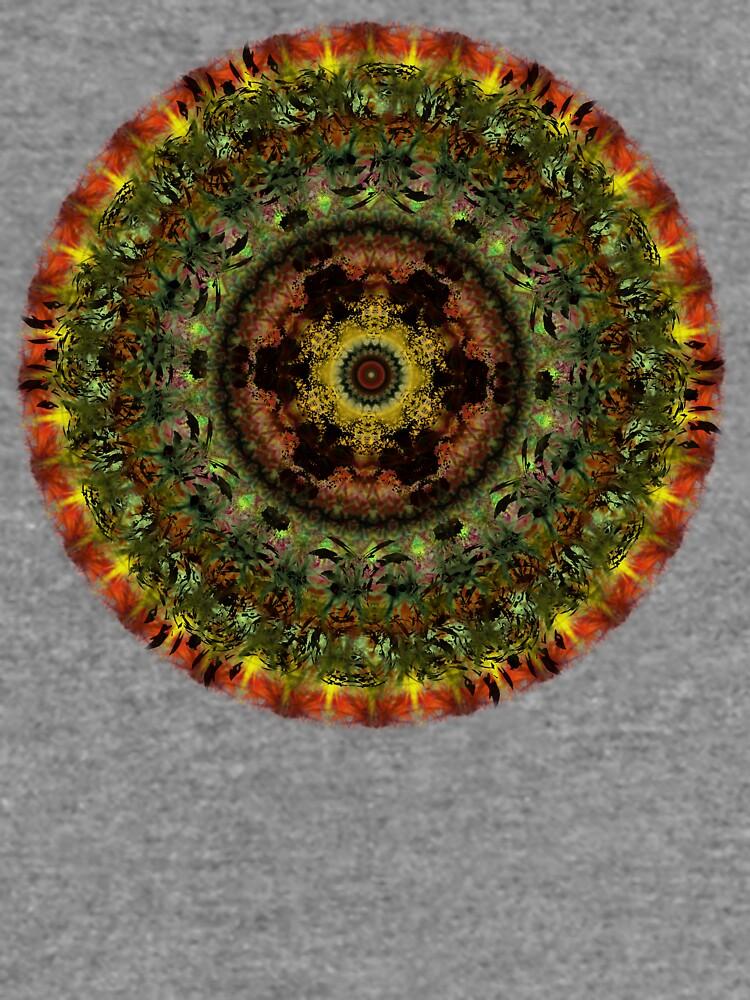 African Dusk mandala by InspiraImage