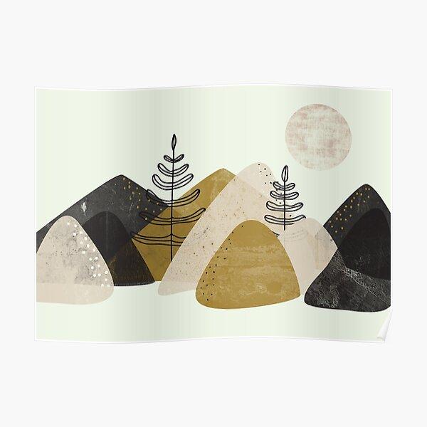 Montañas Póster