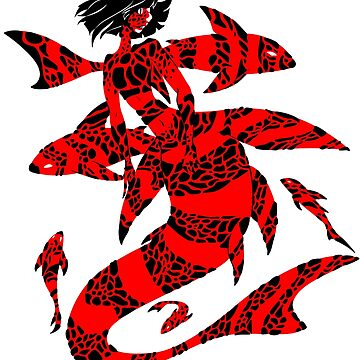 magma mermaid by weirdotwin