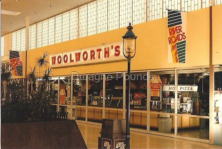 Former Woolworth's at River Roads Mall  by Dwayne Pounds