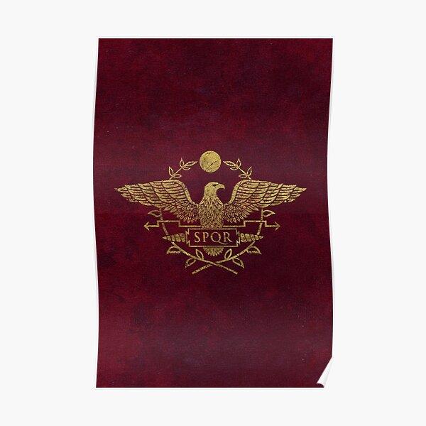 Roman Empire Eagle Emblem Poster