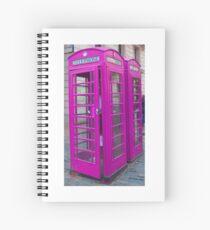 Telephone Box, Covent Garden, London Spiral Notebook
