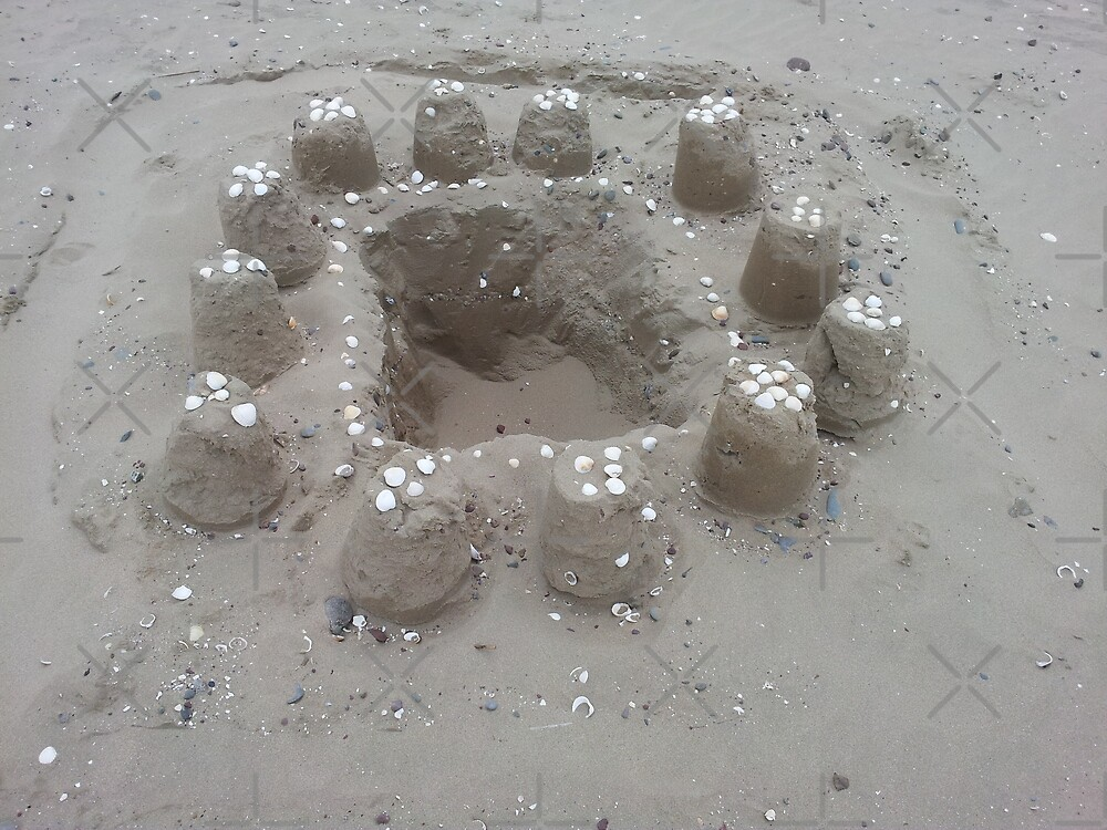 Sandcastle by Hywel Edwards