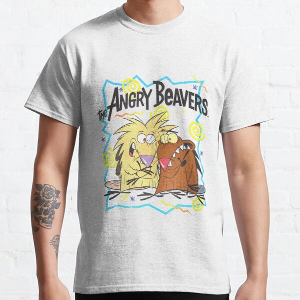 Angry Beavers Characters & 90's Graphics   Classic T-Shirt