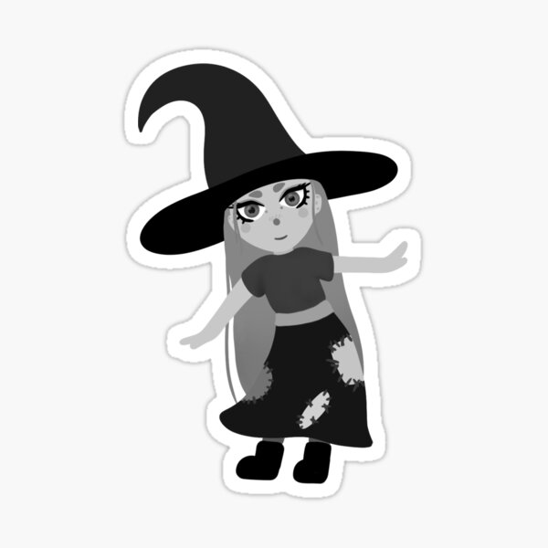 witchy withch Sticker