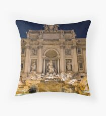 Trevi Fountain Throw Pillow