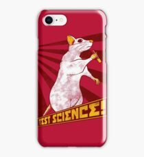 Test Science! iPhone Case/Skin