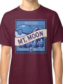 Mt. Moon Pokemon Beer Label Classic T-Shirt