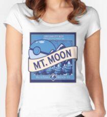 Mt. Moon Pokemon Beer Label Women's Fitted Scoop T-Shirt